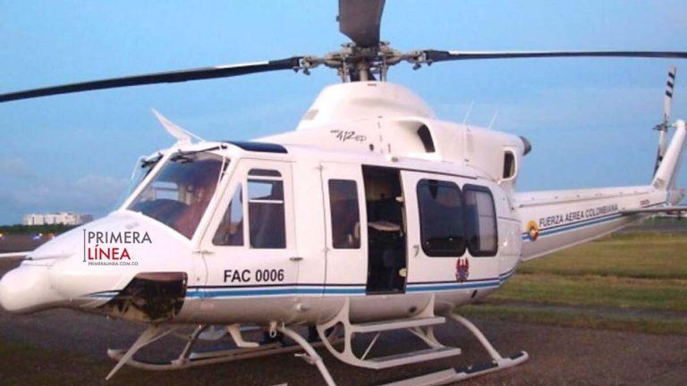 helicóptero accidente fuerza aerea