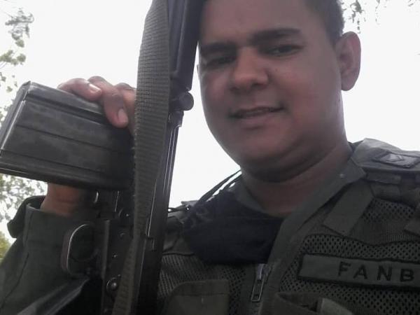 Gerardo José Rojas Castillo, sargento primero de la Guardia Nacional Bolivariana.
