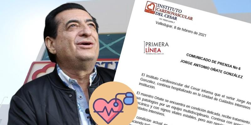 JORGE OÑATE SE RECUPERA (1)