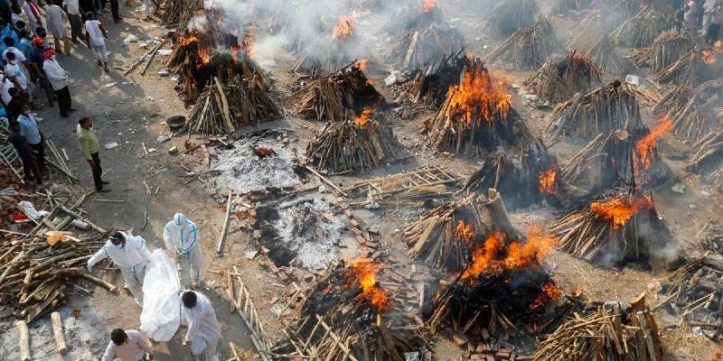 COVID INDIA MUERTES