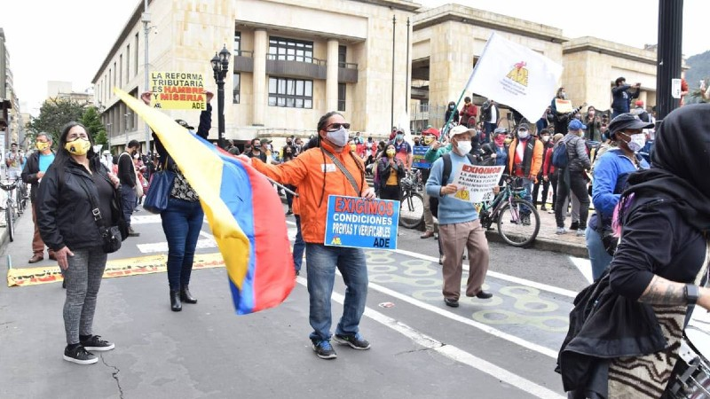 MANIFESTACIONES TAPABOCAS_SEMANA
