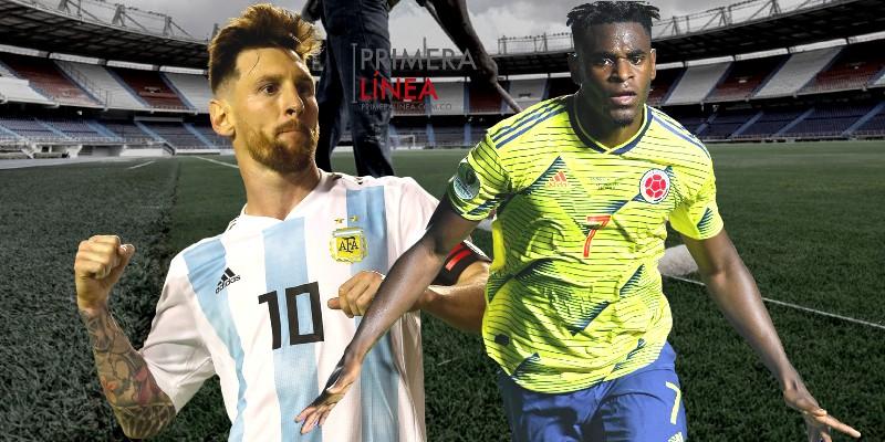 COLOMBIA - ARGENTINA ZAPATA